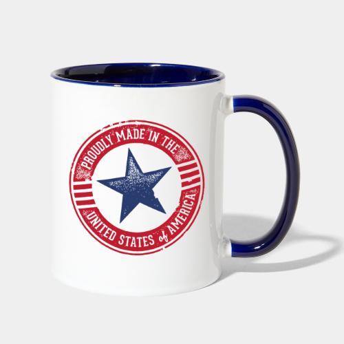 made in usa - Contrast Coffee Mug