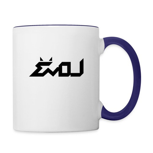 evol logo - Contrast Coffee Mug