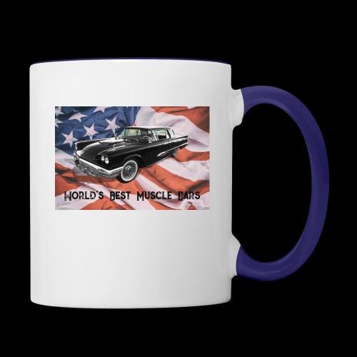 World's Best Muscle Cars - Contrast Coffee Mug