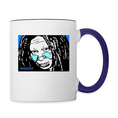 WHOOPI - Contrast Coffee Mug