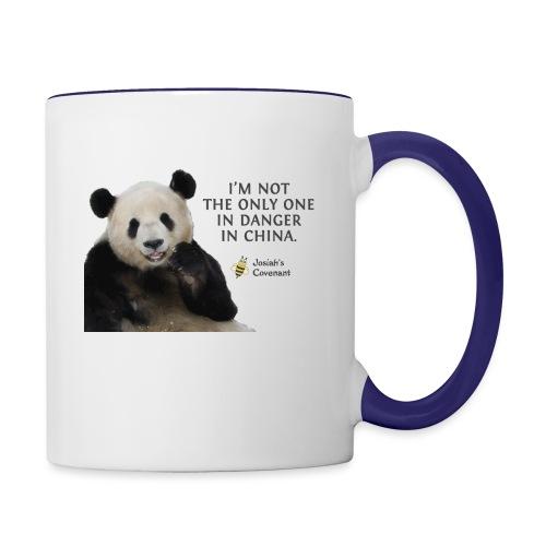Endangered Pandas - Contrast Coffee Mug