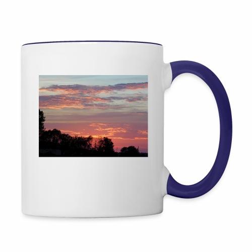 Sunset of Pastels - Contrast Coffee Mug