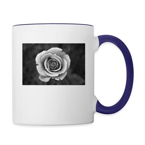dark rose - Contrast Coffee Mug