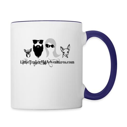 LTBA Heads Logo - Contrast Coffee Mug
