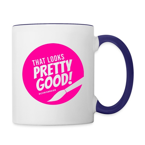 That Looks Pretty Good! - Contrast Coffee Mug