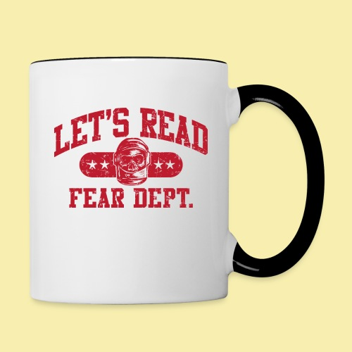 Athletic - Fear Dept. - RED - Contrast Coffee Mug
