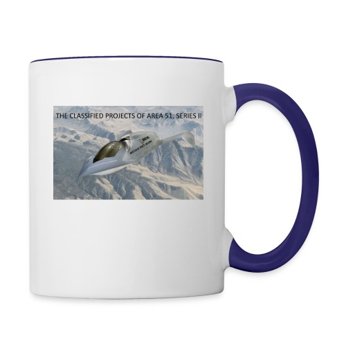 THE CLASSIFIED PROJECTS OF AREA 51 - Contrast Coffee Mug