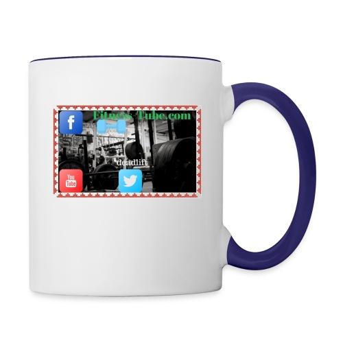 gym199 1 - Contrast Coffee Mug