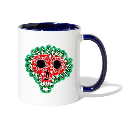 Happy Día de Muertos - Contrast Coffee Mug