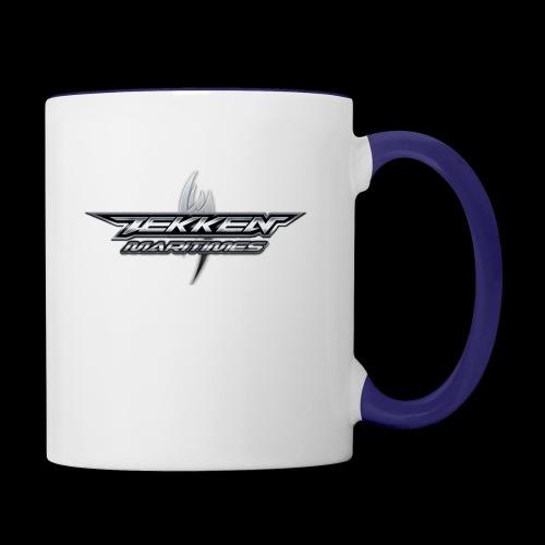 Tekken Maritimes Logo transparent - Contrast Coffee Mug