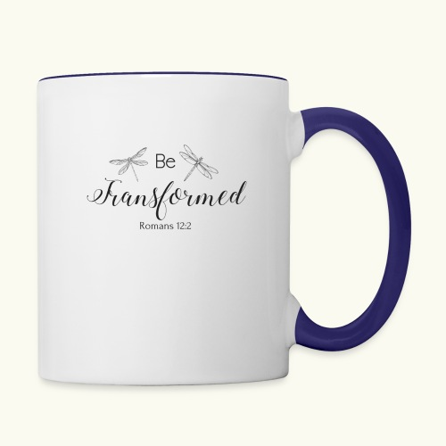 Be Transformed Shop - Contrast Coffee Mug