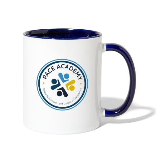 PACE Academy Full Color Circle Logo - Contrast Coffee Mug