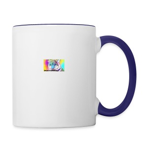 Rainbow Tiger Design Cases - Contrast Coffee Mug