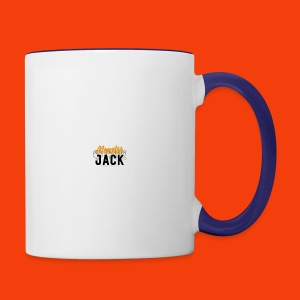monster jack logo - Contrast Coffee Mug