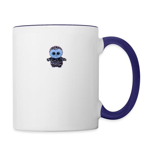 blue_hootie - Contrast Coffee Mug