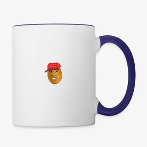 maga potato logo - Contrast Coffee Mug