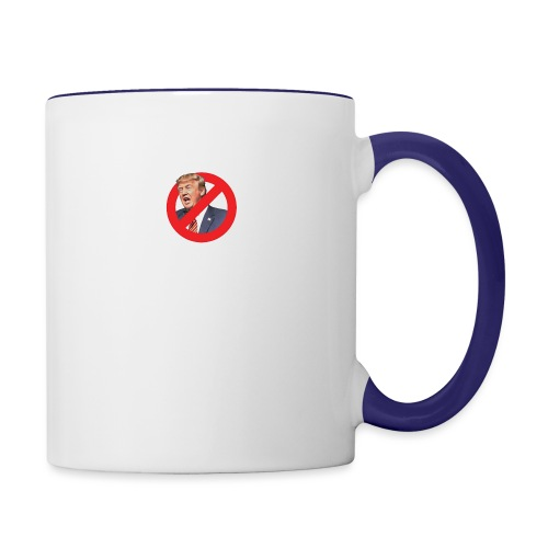 blog stop trump - Contrast Coffee Mug