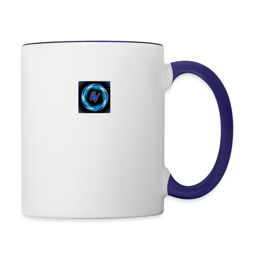 MY YOUTUBE LOGO 3 - Contrast Coffee Mug