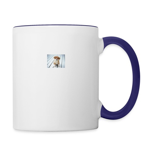dog - Contrast Coffee Mug