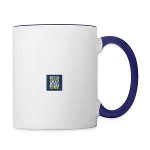 the world needs is people to come alive - Contrast Coffee Mug