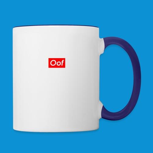 OOF supreme - Contrast Coffee Mug