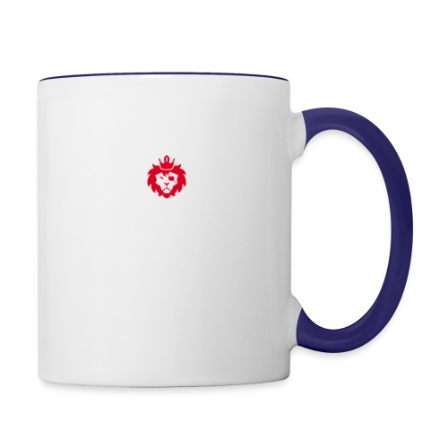 E JUST LION - Contrast Coffee Mug