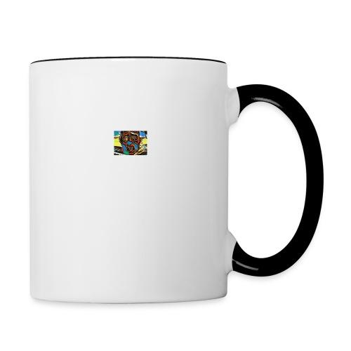 Dali Visage - Contrast Coffee Mug
