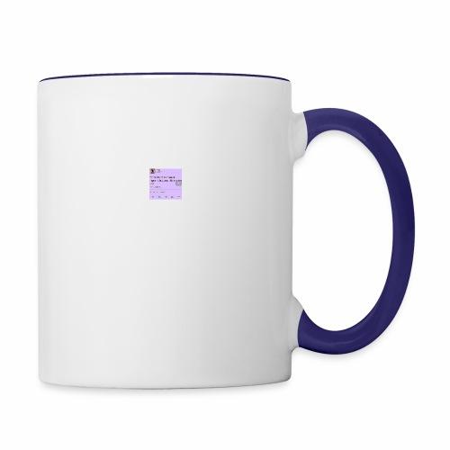 Idc anymore - Contrast Coffee Mug