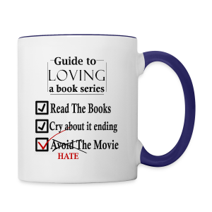 Guide To Loving A Book Series (Black) - Contrast Coffee Mug
