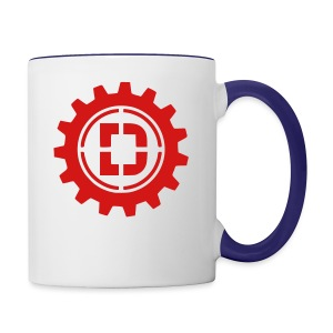 Stacked Logo - Contrast Coffee Mug