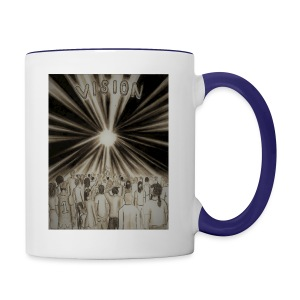 Black_and_White_Vision2 - Contrast Coffee Mug