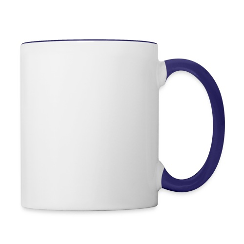Mini Pig Comes Your Life Steals Heart - Contrast Coffee Mug
