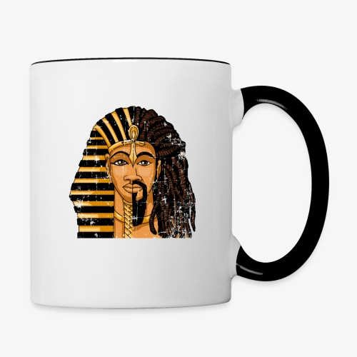 Pharaoh Egypt Love - Contrast Coffee Mug