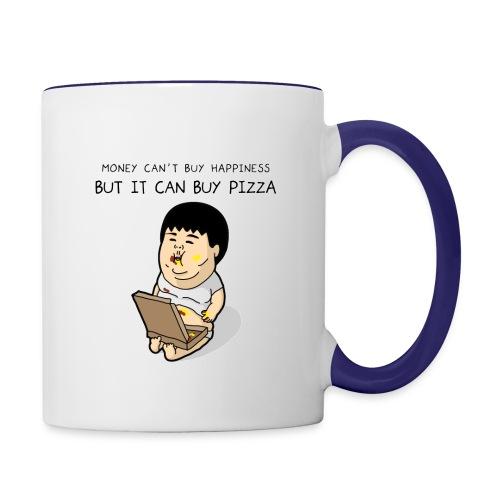 Pizza - Contrast Coffee Mug