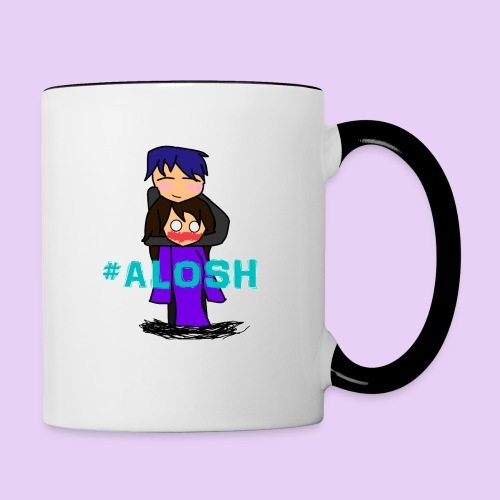 #ALOSH4LIFE - Contrast Coffee Mug