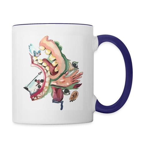 Abstract trip - Contrast Coffee Mug