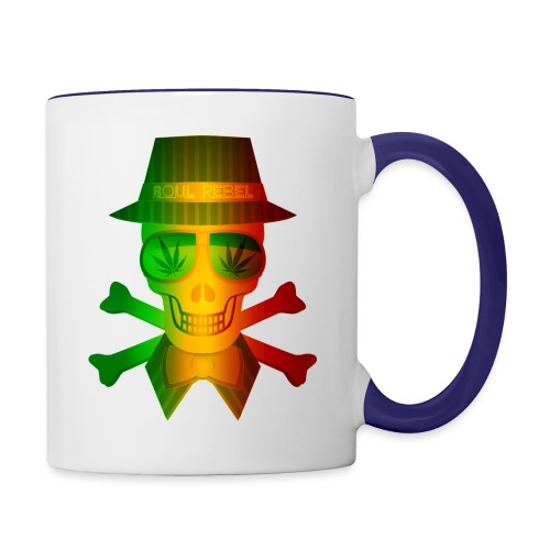 Rasta Man Rebel - Contrast Coffee Mug
