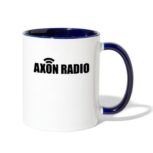 Axon Radio | Midnight label apparel - Contrast Coffee Mug