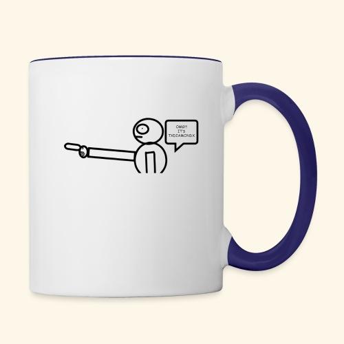 OMG its txdiamondx - Contrast Coffee Mug