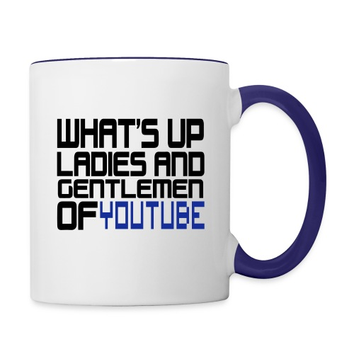 yputube - Contrast Coffee Mug