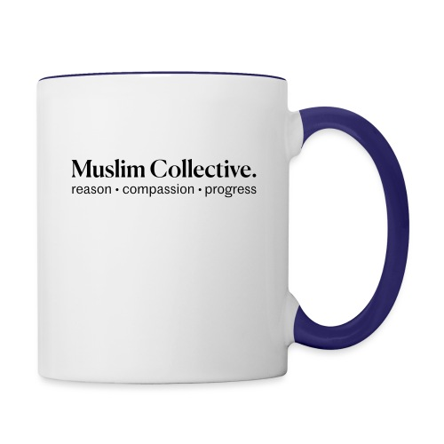 Muslim Collective Logo + tagline - Contrast Coffee Mug