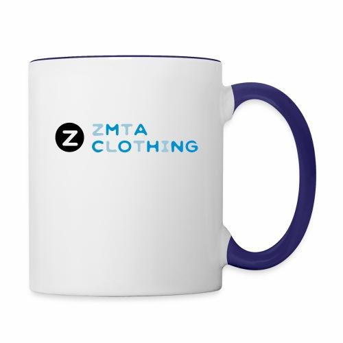 ZMTA logo products - Contrast Coffee Mug