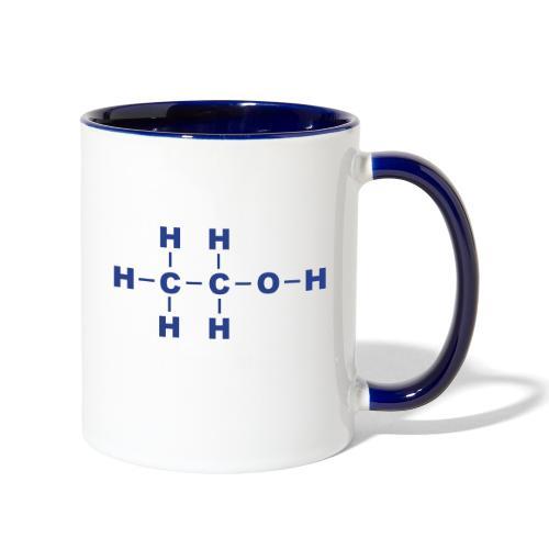 Alcohol Molecule - Contrast Coffee Mug