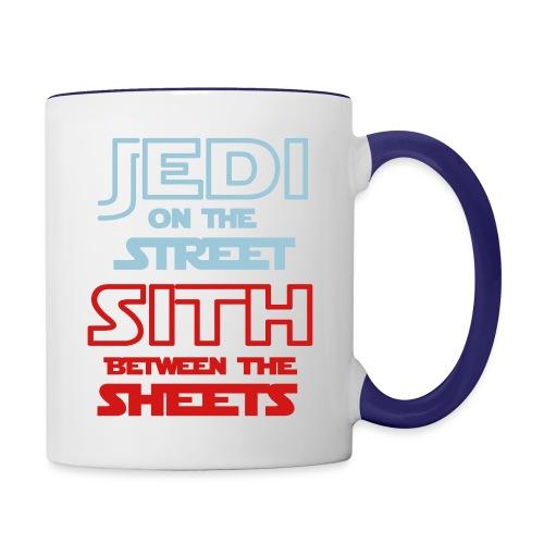 Jedi Sith Awesome Shirt - Contrast Coffee Mug