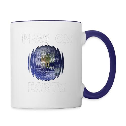 Peas on Earth! - Contrast Coffee Mug