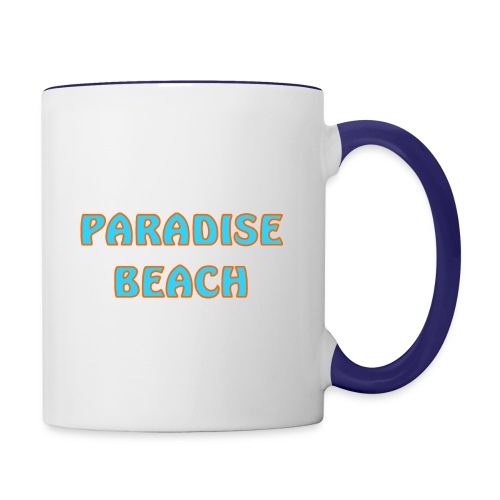 Paradise beach - Contrast Coffee Mug