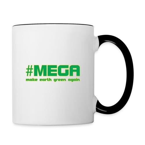 #MEGA - Contrast Coffee Mug