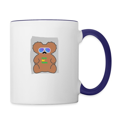 Aussie Dad Gaming Koala - Contrast Coffee Mug