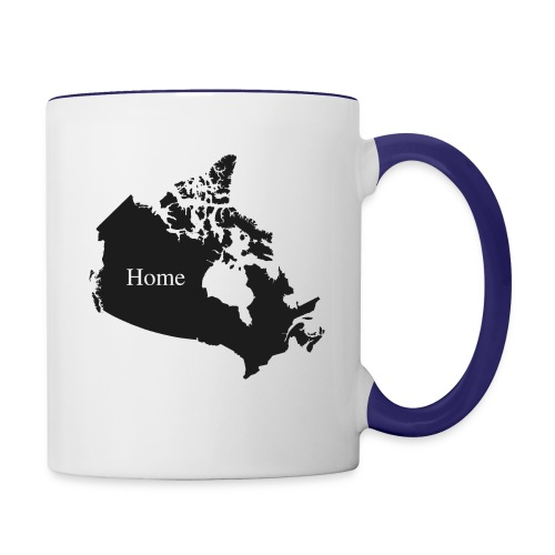 Canada Home - Contrast Coffee Mug