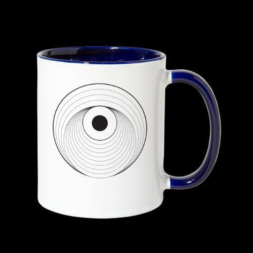 Black Dirt Vortex Logo Light - Contrast Coffee Mug